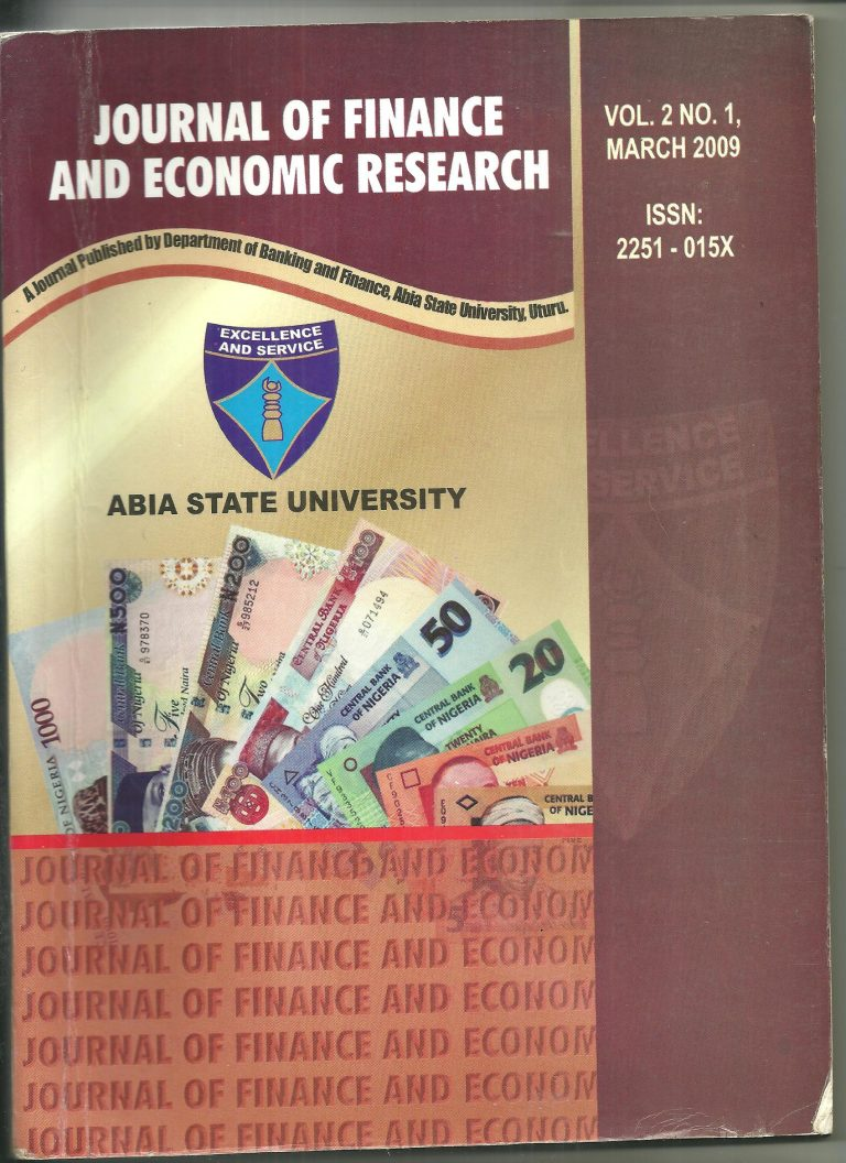 research papers on economics and finance The journal of economics and finance is the official journal of the academy of economics and finance it publishes theoretical and empirical research papers in economics and finance and related fields, such as decision sciences.